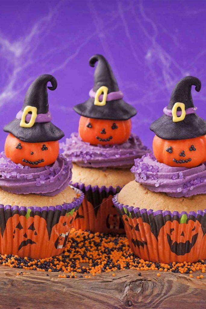 Cupkaces for Halloween