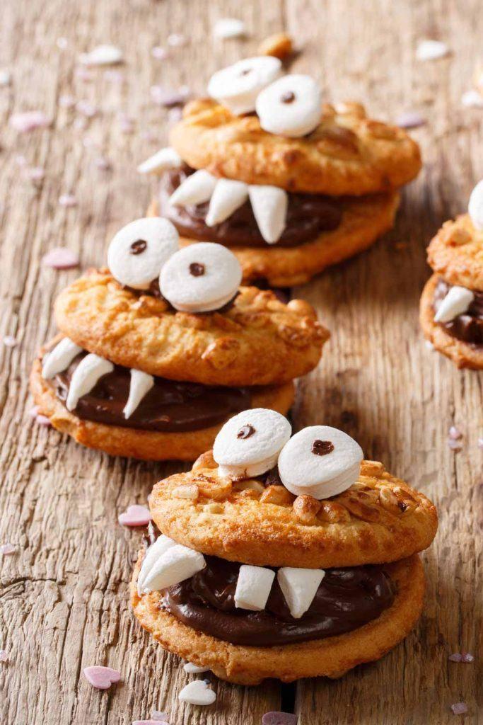 Creepy Cookie Monsters for Halloween