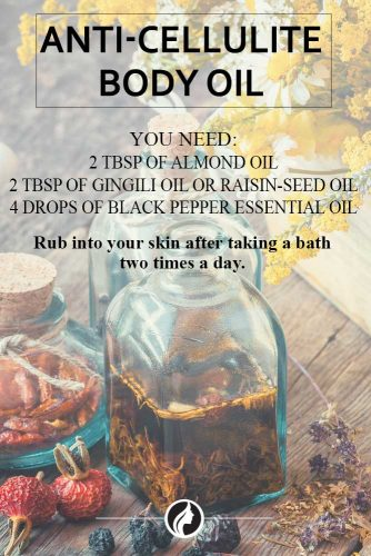 How to Get Rid of Cellulite on Legs With the Help of Black Pepper Esential Oil