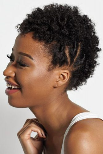 17 Short and Sassy Natural Hairstyles for Afro-American Women