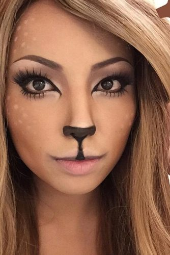 Deer Girl Pretty Makeup