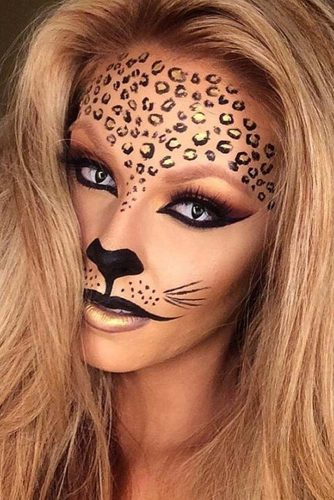 Leopard Fairy Makeup