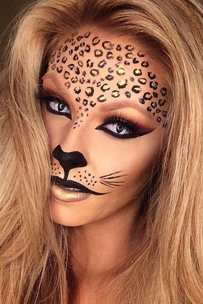 Leopard Fairy Makeup