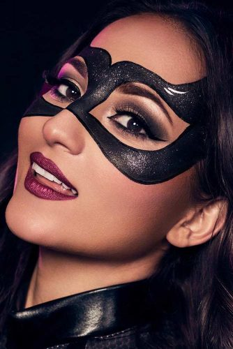 Trucco Halloween Catwoman