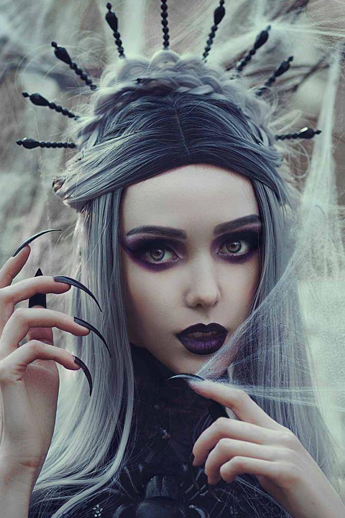 Dark Princess Halloween Makeup