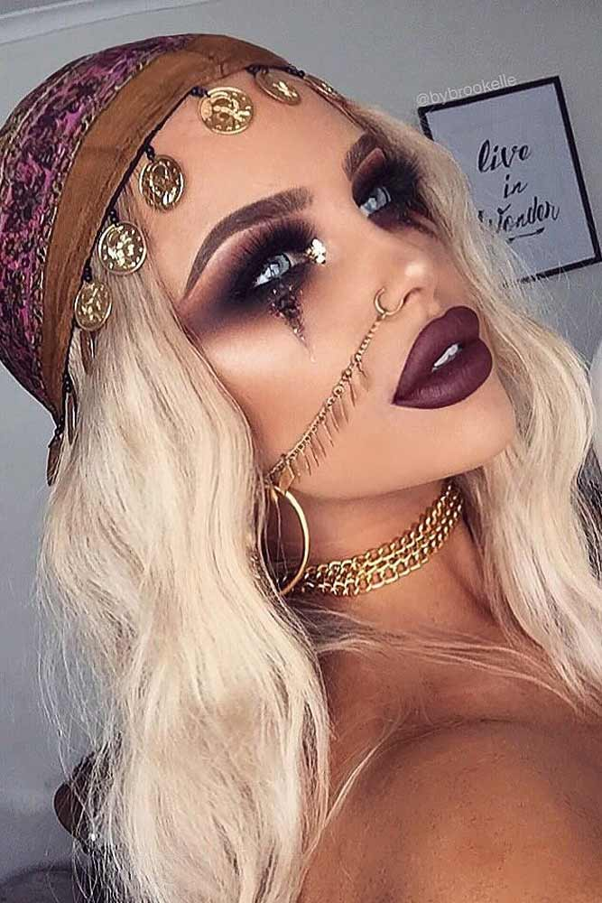Fortune Teller Look for Halloween Makeup Ideas