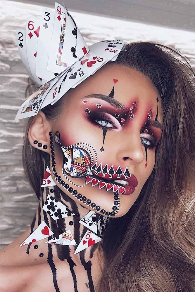 Game Queen Halloween Makeup #gamequeen