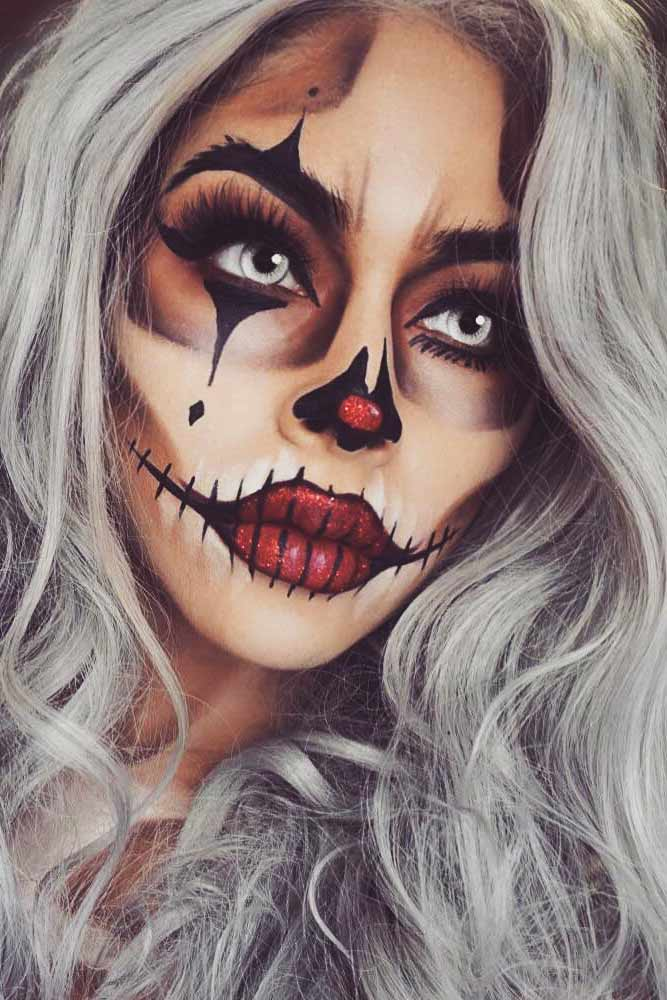 Female Halloween Makeup Ideas.54 Killing Halloween Makeup Ideas To Collect All Compliments And Treats