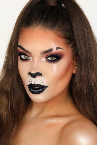 Scar Lion King Halloween Makeup #lionking #scar