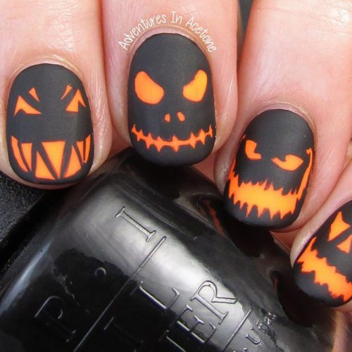 18 Super Stylish Halloween Nails That Will Blow Your Mind
