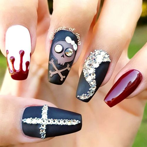 Cute and Easy Halloween Nail Art Ideas picture 3