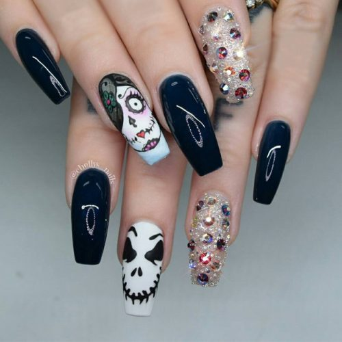 Stunning Halloween Nails picture 3