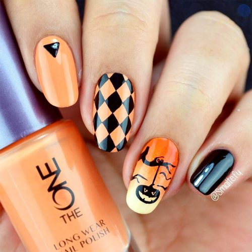 Cute and Easy Halloween Nail Art Ideas picture 2