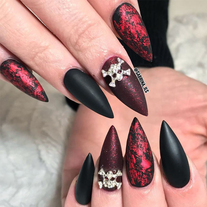 New Scary Halloween Nail Designs picture 3