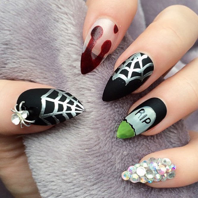 Fun and Scary Halloween Nails picture 3