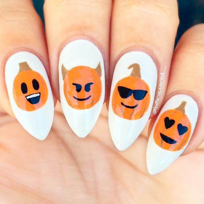 Cool Hand Painted Pumpkins
