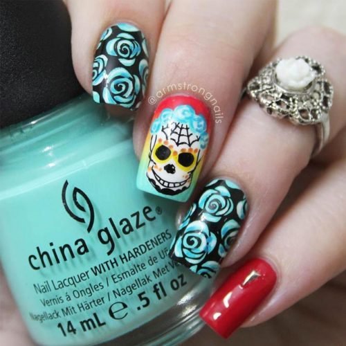 Fun and Scary Halloween Nails picture 2