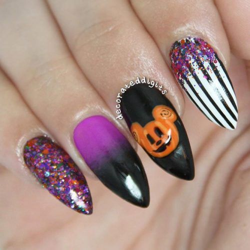 Fun and Scary Halloween Nails picture 1