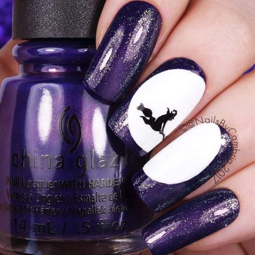 Cute and Easy Halloween Nail Art Ideas picture 1