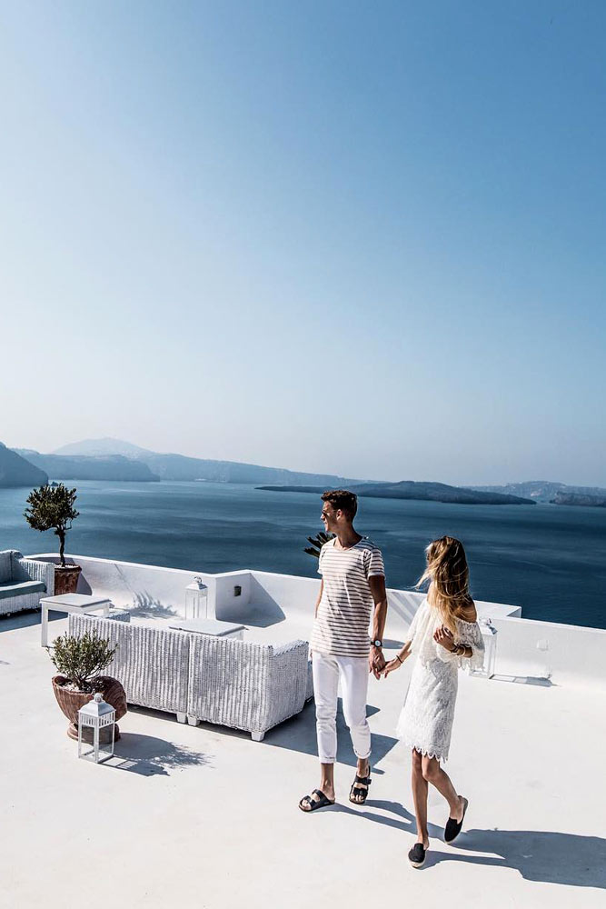 Vacation ideas for couples Santorini, Greece