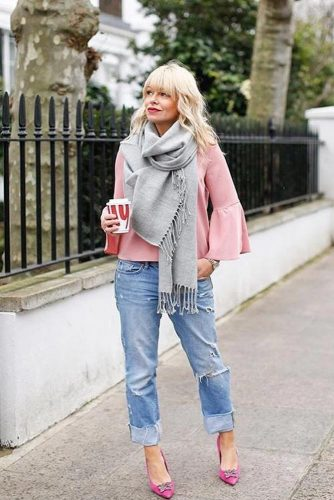 How to Wear a Scarf: Adding Color picture 6