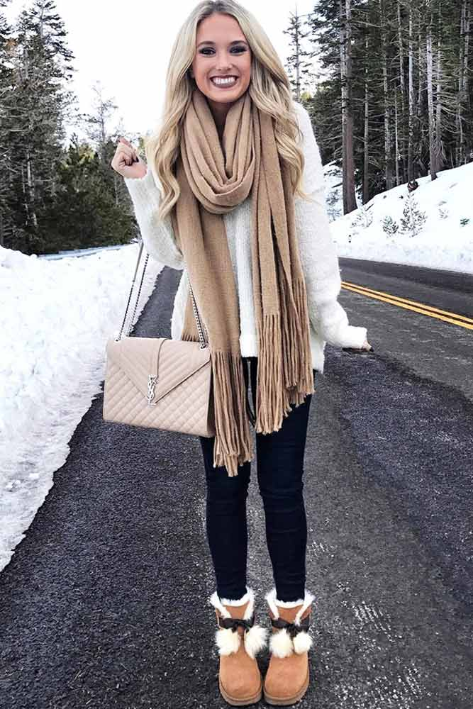 Popular Ways How to Wear a Scarf picture 1