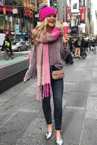 Popular Ways How to Wear a Scarf picture 5