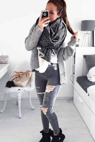 Top Ideas How To Wear a Scarf picture 3