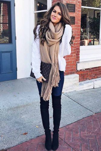 Top Ideas How To Wear a Scarf picture 2