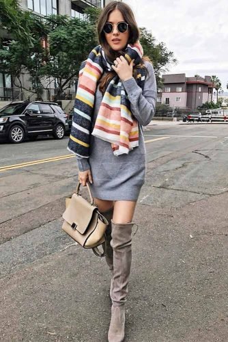 Top Ideas How To Wear a Scarf picture 1