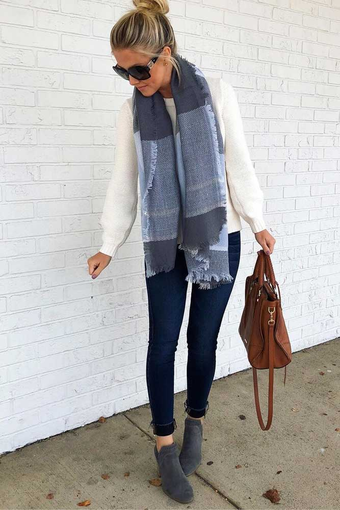 Newest Outfit Ideas with Scarves picture 6