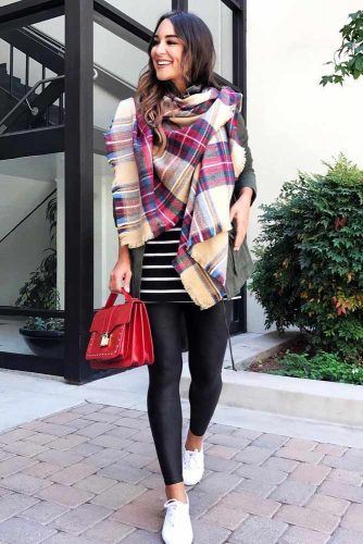 Newest Outfit Ideas with Scarves picture 3