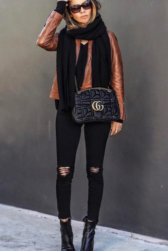 Top Ideas How To Wear a Scarf picture 6