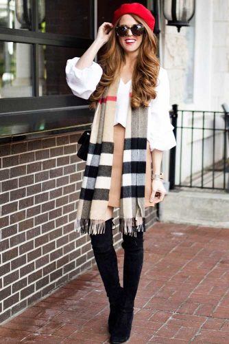Top Ideas How To Wear a Scarf picture 5