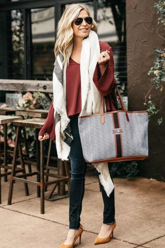 Newest Outfit Ideas with Scarves picture 5