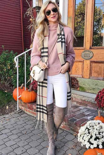 Newest Outfit Ideas with Scarves picture 4