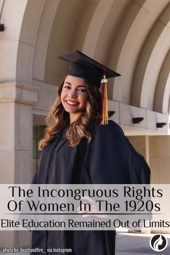 Women's Rights: The Incongruous Rights Of Women In The 1920s