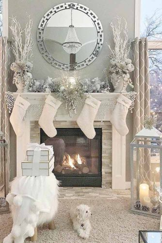 Amazing Christmas Fireplace Decorations picture 1