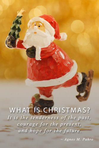 Agnes M. Pahro #inspirationalquotes #christmasquotes