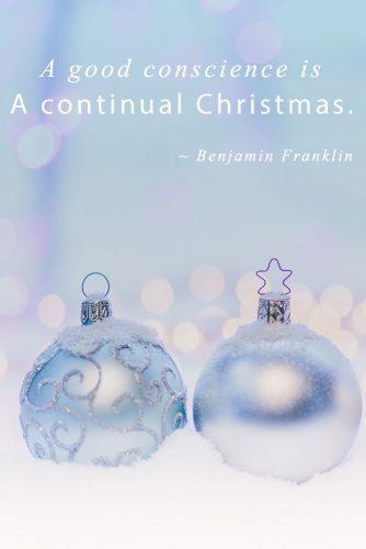Benjamin Franklin #inspirationalquotes #christmasquotes