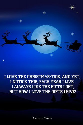 Carolyn Wells's Quotes About Christmas #inspirationquotes #quotes