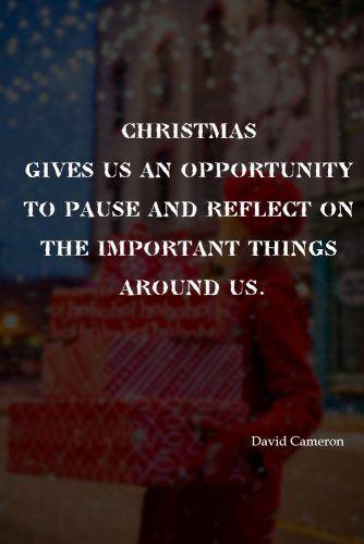 Christmas Quote By David Cameron  #davidcameron #inspiration
