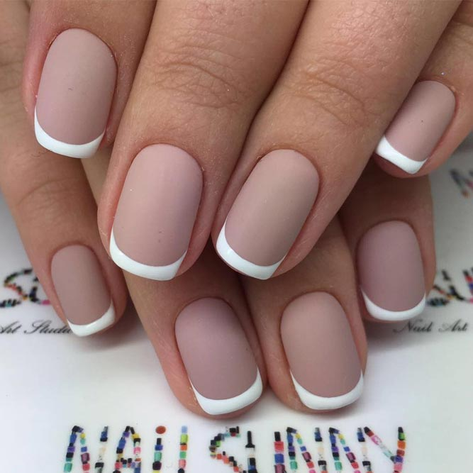 Stunning French Manicure Idea