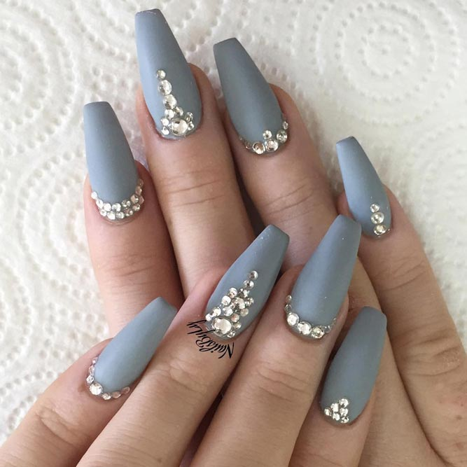 Sparkly Nail Art Design