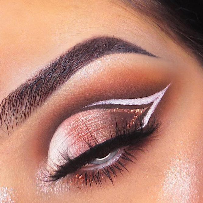 45 Top Rose Gold Makeup Ideas To Look Like A Goddess