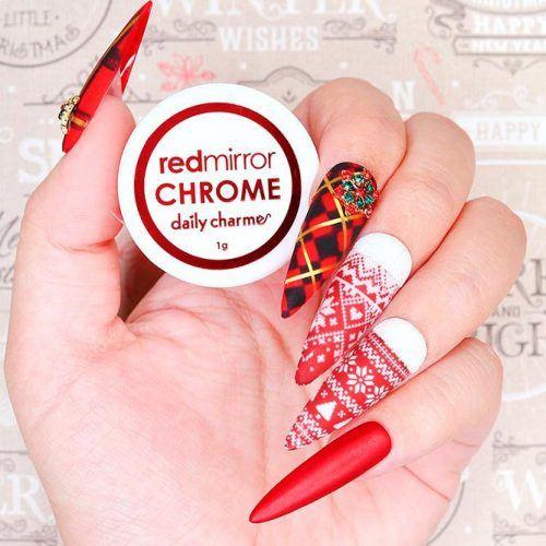 Long Matte Nail Design #longnails #almondnails #patternednails