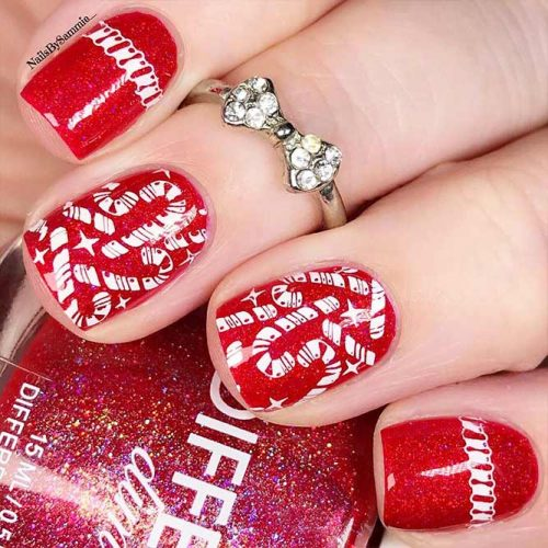 Christmas Nail Art Picture 20