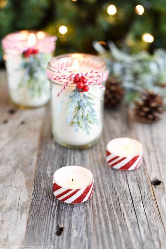 Christmas Candles Gift Idea #candles