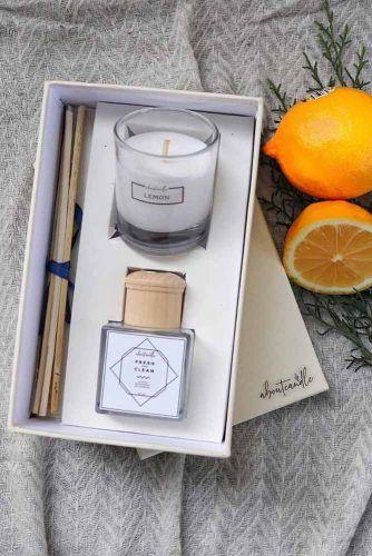 Aroma Box Gift Idea #candlegift