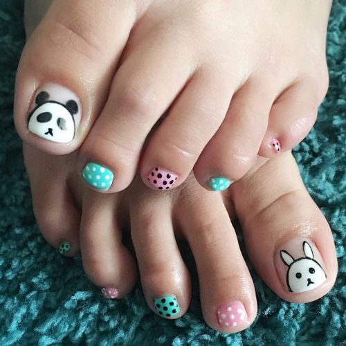 18 Eye Catching Toe Nail Art Ideas You Must Try